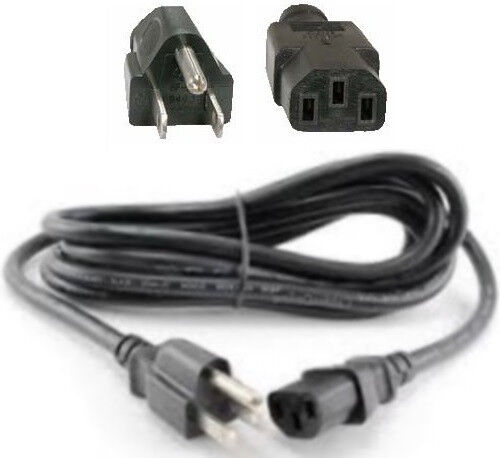 10ft 16awg long Heavy Duty Standard AC Power Cord//Cable//Wire PC IEC320 C13 13A
