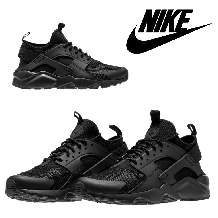 NIKE AIR HUARACHE ULTRA LOW MENS SHOES 819685-002 BLACK