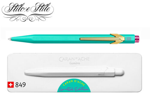 Caran D/'Ache 849 Claim Your Style Limitierte Auflage Pen Kugel Ballpoint Pen Cda
