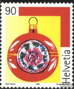 Schweiz-1705-kompl-Ausg-gestempelt-1999-Weihnachten