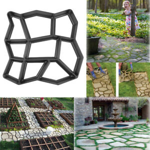Confident Diy Garden Concrete Paving Mold For Pavement Walkways For Garden Path Paving Mold Pathmate Shovel Furniture Accessories