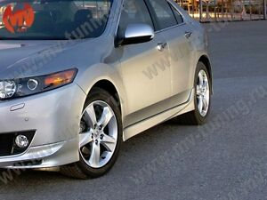 Side Skirts Type S Style Premium White Pearl For Honda