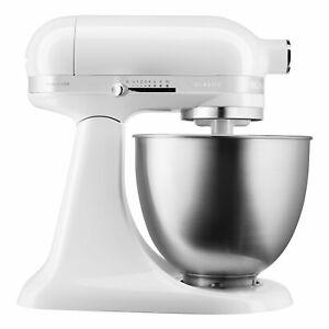 KitchenAid 5KSM3310XEWH Classic Mini Küchenmaschine Rührgerät Factory Serviced