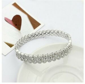 18k-white-gold-gf-made-with-SWAROVSKI-crystal-bangle-bracelet