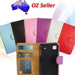 PREMIUM-QUALITY-LEATHER-WALLET-BOOK-COVER-CASE-WITH-CARD-POUCHES-FOR-HTC-MODELS