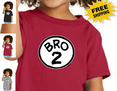 Funny Sis2 Thing Sister Sibling Youth Cat Hat Children Toddler Cotton T Shirt