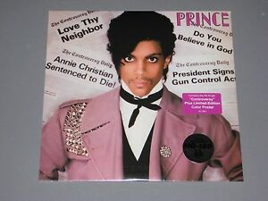 PRINCE-Controversy-180g-LP-ltd-ed-Color-Poster-New-Sealed-Vinyl