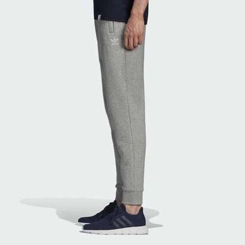 Grigio Pile Originali Slim dn6010 Bianco Tuta Pantaloni Adidas XqBSwnTzz
