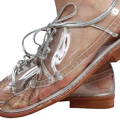 Señoras para mujer inteligente de talón bajo plano lazada Zapato Bajo De Cuero Mocasín Zapatos Talla 3-8