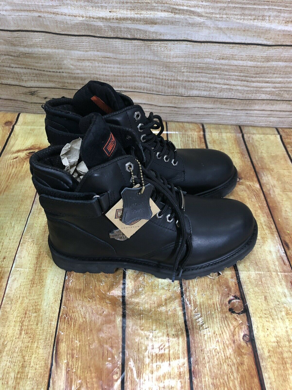 New Harley Davidson 91017 Boots Size 11 With Box