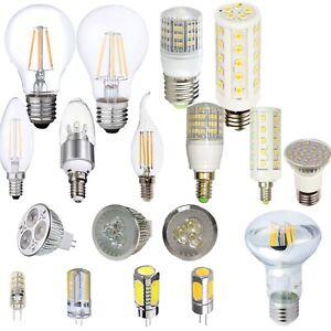 GU10 MR16 E27 E14 3W 4W 5W LED Birnen Leuchtmittel Strahler Dimmbar Lampes A+
