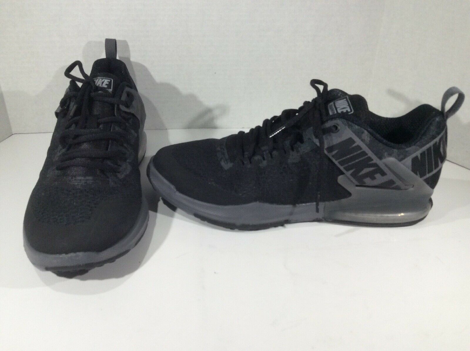 7d45a0fbfc943 NIKE Mens Zoom Domination TR2 Black Running Training Athletic Shoes Sz 11  F9-136