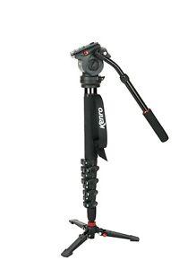 Kenro-Black-Standard-Carbon-Fibre-Video-Monopod-Kit-KENVT101C