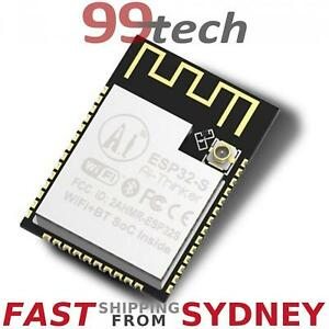 Details about ESP32-S WiFi Bluetooth Module, ESP32 Board, ESP-WROOM-32,  Arduino, From SYDNEY