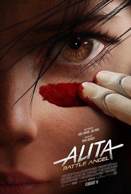 Alita Battle Angel Movie James Cameron 2019 Hot Silk Poster 12x18 24x36inch