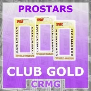 CRMG Corinthian ProStars CLUB GOLD STANDARD EDITION 2000-2001 (choose from list)