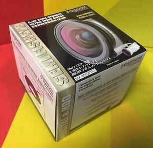 Raynox-MX-3000-WIDE-SEMI-Fisheye-Lens-0-3X-to-CANON-REBEL-TXi-EOS-GL1-GL2-58mm