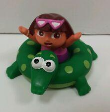 Dora the Explorer ~ 2005 Munchkin ~ Rubber Turtle Tube Figure Summer Cake Topper