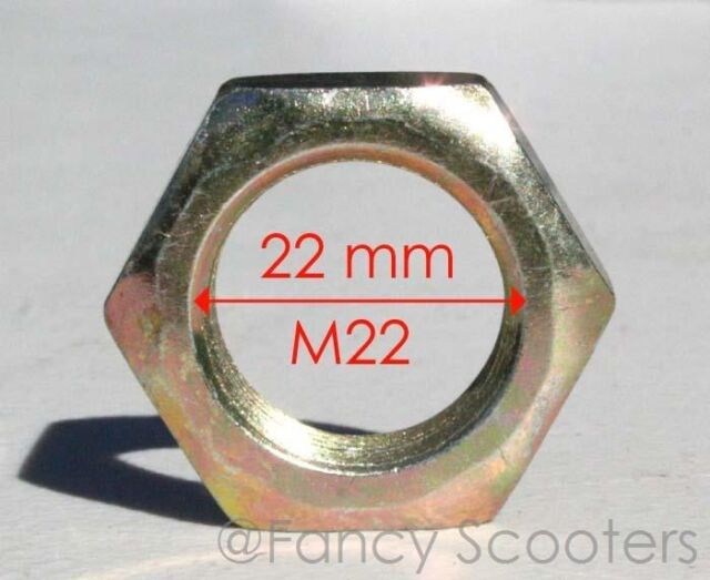 2 OF Kid ATV Rear Axle M 22 *1.5 PITCH NUT FOR TAOTAO,COOLSTER,KAZUMA 50CC 110CC