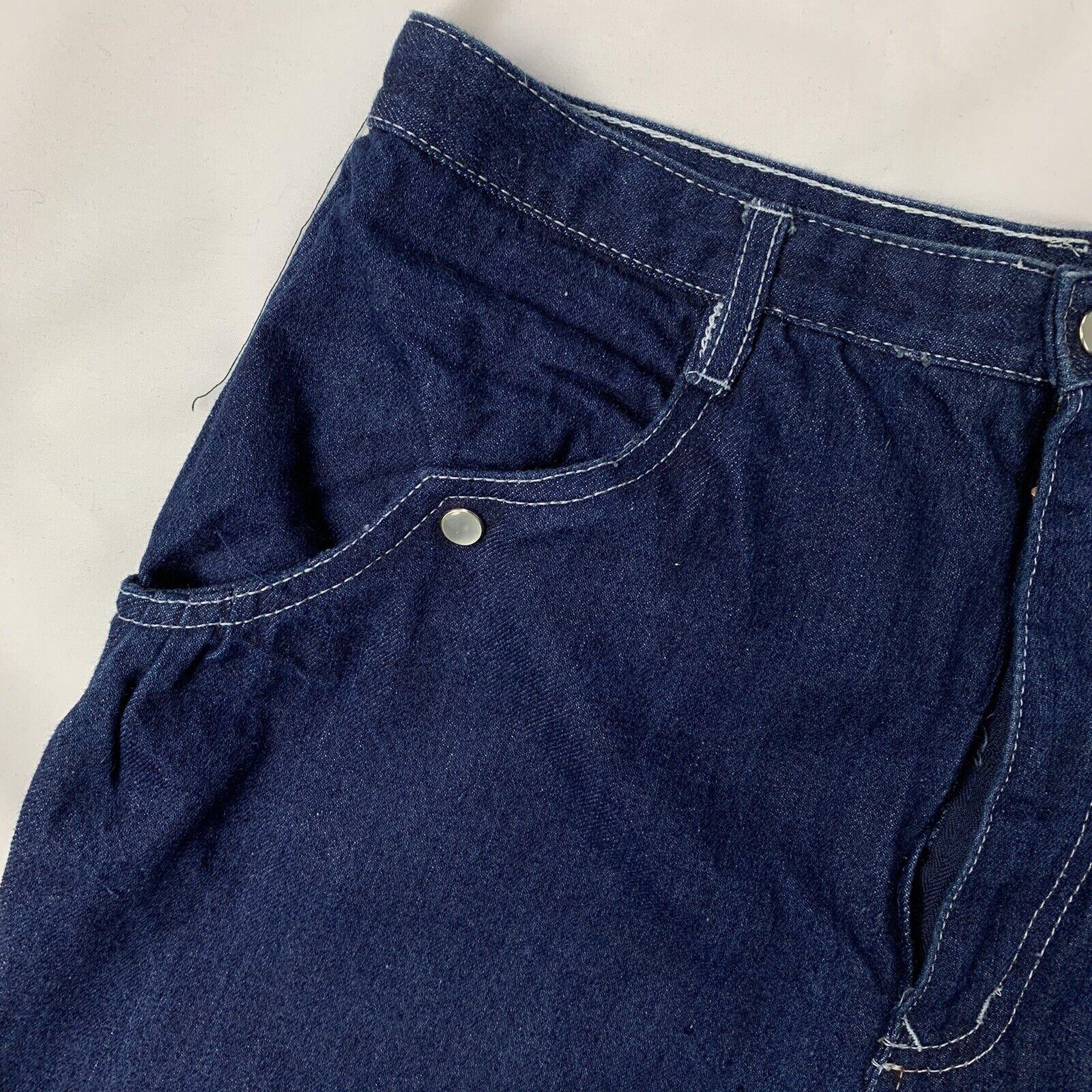 Vintage Women's N'Est-Ce Pas? Jeans 28.5 x 40 100… - image 5