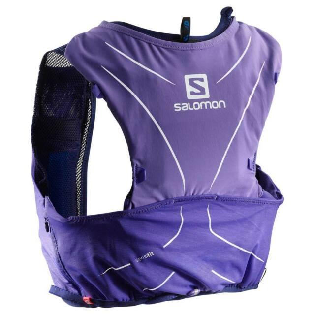 48a42f1e Salomon ADV Skin 5 Set Running Backpack Purple