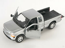BLITZ VERSAND Ford F-350 Pick Up silber / silver Welly Modell Auto 1:24 NEU OVP