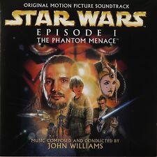 STAR WARS - THE PHANTOM MENACE CD OST / Soundtrack VGC Poster inlay