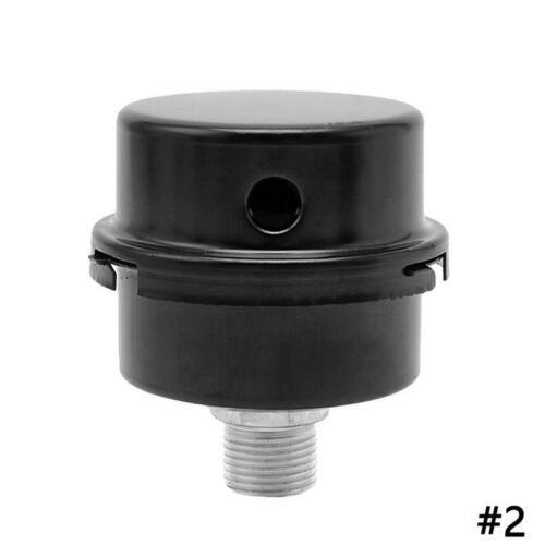 Gewinde Dia Luftkompressor Ansaugfilter Schalldämpfer Black Metal Black Best
