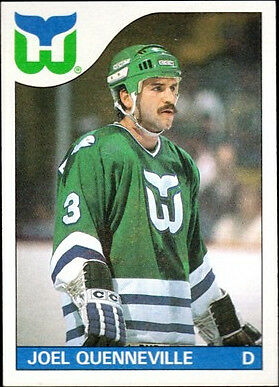 ecffc2bea 1988 - 1989 Topps Joel Quenneville Hartford Whalers  3 Hockey Card for sale  online