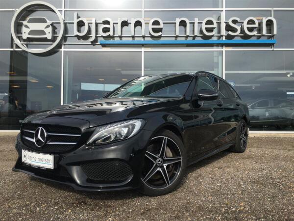 Mercedes C250 2,0 AMG Line stc. aut. billede 0