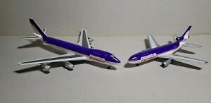 DRAGON-WINGS-FEDERAL-EXPRESS-747-200F-amp-DC-10-10F-SET-1-400-SCALE-DIECAST-MODELS