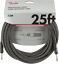 GRAY TWEED Genuine Fender Professional Series Guitar//Instrument Cable 25/' ft