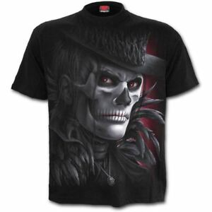 Spiral-Direct-Day-Of-The-Goth-Skeleton-Zombie-Black-Short-Sleeved-T-Shirt