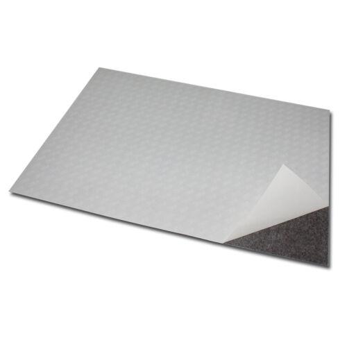 1x Magnetfolie DIN A4 297x210 mm 0,6 mm Selbstklebend Magnet Schild Anisotrop 3M