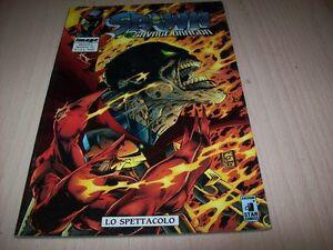SPAWN-amp-SAVAGE-DRAGON-N-14-LO-SPETTACOLO-IMAGE-STAR-COMICS-MAGGIO-1995-BSS