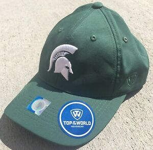 quality products store classic shoes NCAA Michigan State Spartans Snapback Cap Hat Top Of The World New ...
