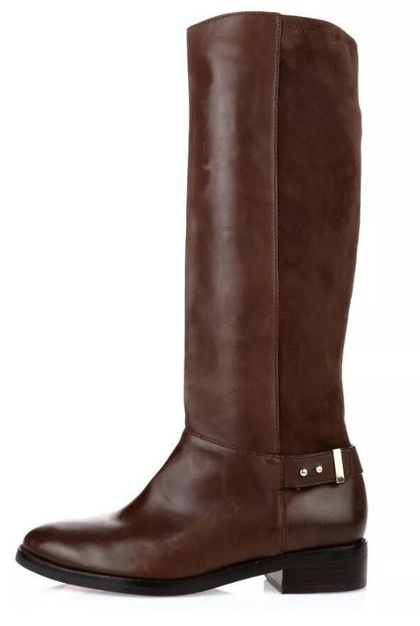 Cole Haan Adler Leather Brown Riding Boots 6733 Size 9.5B *