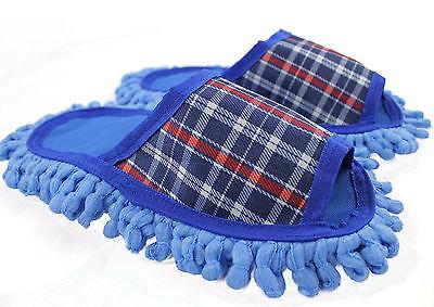 Staubtuch Hausschuhe Putz Hausschuhe Mop Schuhe Sohele Mikrofasser Gr 40-43 R164