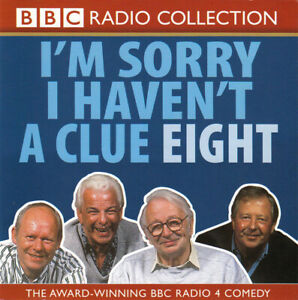 I-039-m-Sorry-I-Haven-039-t-A-Clue-8-Eight-BBC-Radio-Collection-CD-New-amp-Sealed