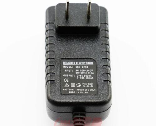 Ni-MH Ni-Cd Charger to battery 2.4V 3.6V 4.8V 6V 7.2V 8.4V 9.6V 10.8V 12V US