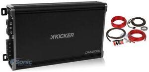 Kicker-43CXA12001-CXA1200-1-1200-Watt-RMS-Mono-Car-Audio-Amplifier-Amp-Kit