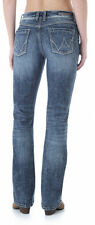 Wrangler Women's Premium Patch Mae Sits Above Hip Jean Size 5/6 X 32