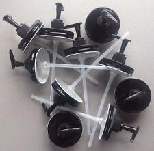 Wholesale Lot 10 Mason Jar Soap/Lotion Dispenser Lids w/ Pumps. Black with Black