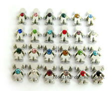 20pcs lot mix Birthstone Boy&Girl Floating Charms for Glass Locket Free Shipping