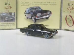 Wiking-C-amp-I-Sondermodell-Ford-17M-Badewanne-schwarz
