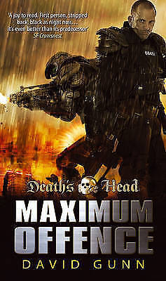 1 of 1 - Death's Head: Maximum Offence (Bk2 of The Aux) by David Gunn (Paperback, 2009)