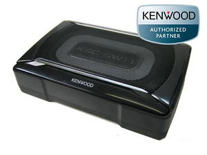 kenwood ksc sw11 aktiv subwoofer flach kompakt untersitz. Black Bedroom Furniture Sets. Home Design Ideas