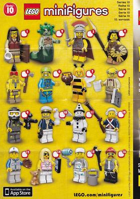 Lego SERIE 1 FIGURINE TORSE TÊTE JAMBES Minifig Torso Heads Tools Lot 8683 NEW !