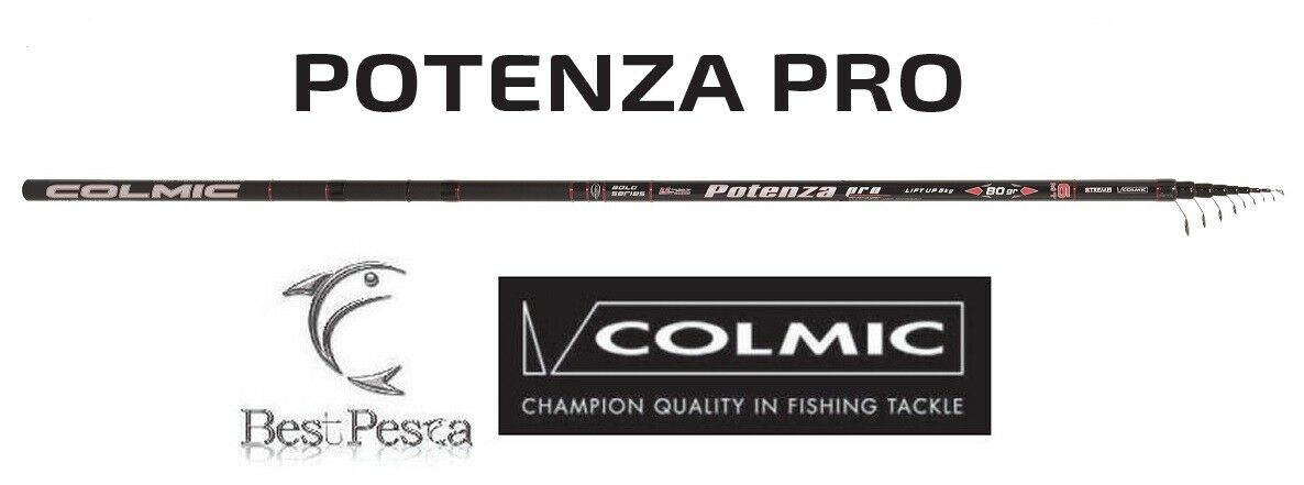 Canna Bolognese - COLMIC POTENZA PRO - 7mt - 80gr
