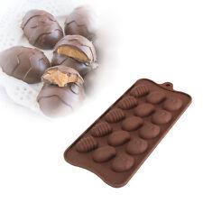 Easter Egg Silicone Fondant Mould Chocolate Sugarcraft Cake Clay Mold Baking DIY